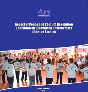 Peace education-evalaution report 2010