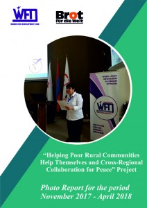 """Community Based Rural Development & Peacebuilding Through Peace Education"" project report for the period November 2017-April 2018"