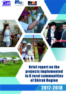 """""""Report on the Projects implemented in 8 Rural Communities of Shirak Region"""""""