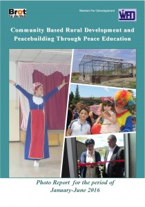 """Community Based Rural Development & Peacebuilding Through Peace Education"" project Photo-report for the period of January-June, 2015"